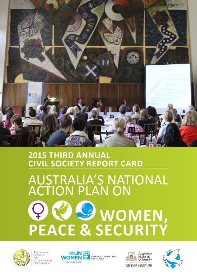 Read the 2015 Third Annual Civil Society Report Card