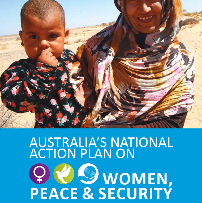2013 Annual Civil Society Report Card on Australia's National Action Plan on Women, Peace and Security